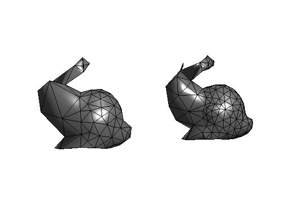 Geodesic Surface Remeshing